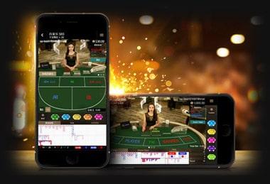 เล่นผ่านมือถือ Mobile Platform SA Gaming