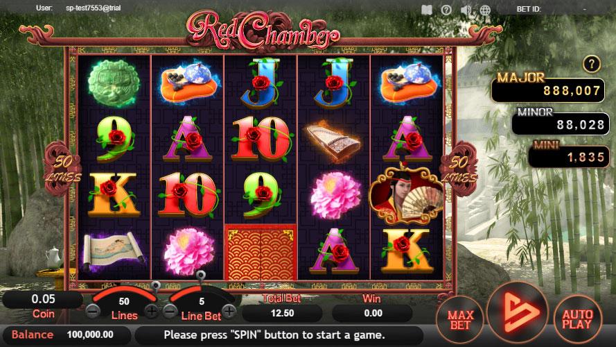 หน้าการเล่น Red Chamber สล็อตออนไลน์