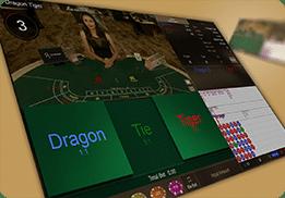เสือมังกร Dragon Tiger คาสิโนสด SA Gaming