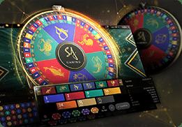วงล้อมหาโชค Money Wheel คาสิโนสด SA Gaming
