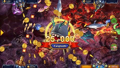 เกมส์ยิงปลา Fishermen Gold SA Gaming 2