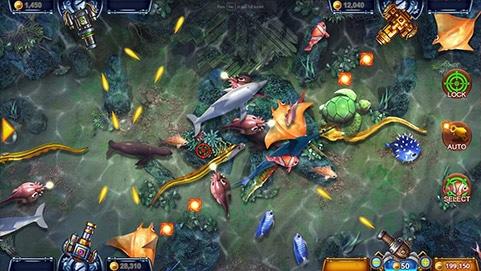 เกมส์ยิงปลา Fishermen Gold SA Gaming 3