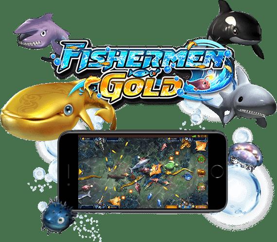 เกมส์ยิงปลา Fish Game Fishermen Gold SA Gaming