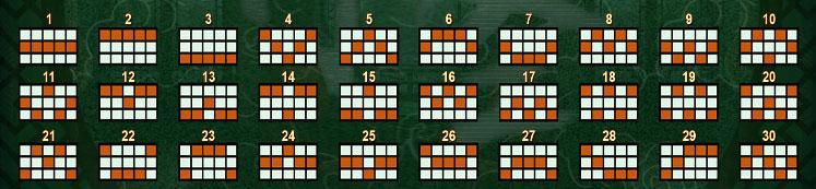 Pays lines Saint Of Mahjong สล็อตออนไลน์