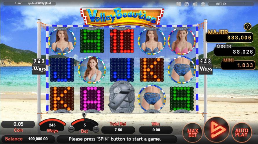 หน้าหลัก Volley Beauties สล็อตออนไลน์
