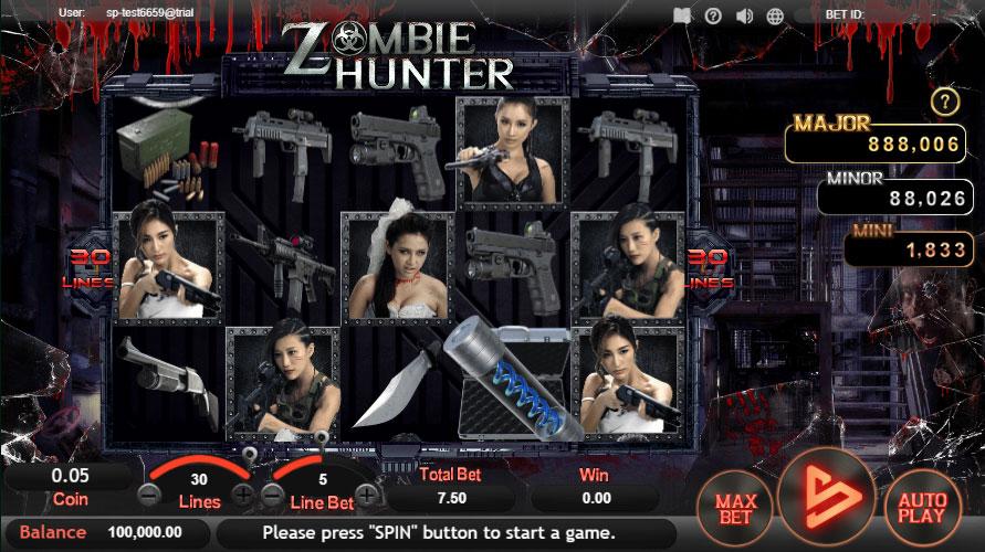 หน้าหลัก Zombie Hunter สล็อตออนไลน์